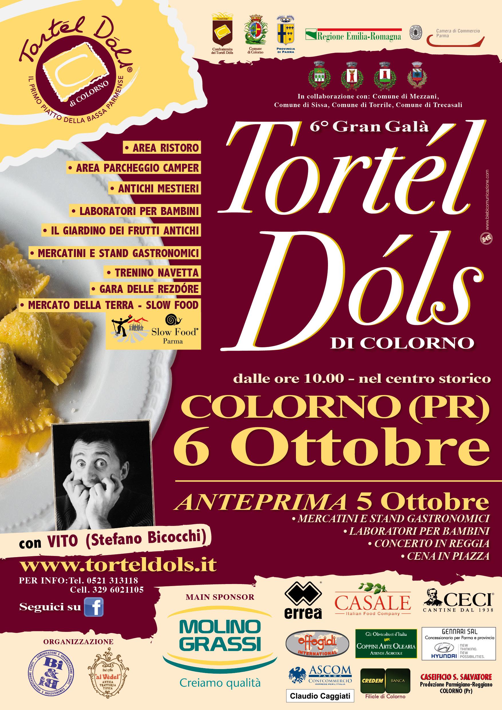 Ottobre 2013: VI Gran Galà del Tortél Dóls, il programma della golosa kermesse