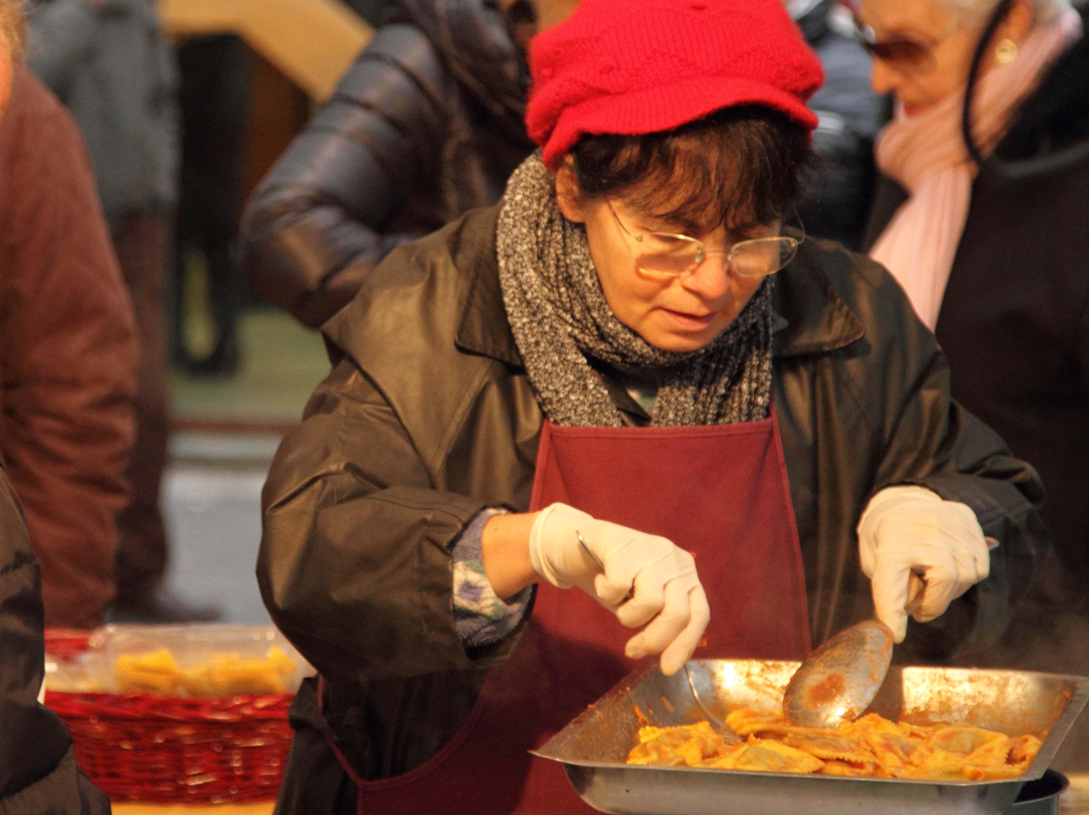 Degustazione in Piazza Ghiaia (PR)