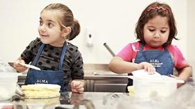 Laboratori di cucina e pasticceria per bimbi ALMA
