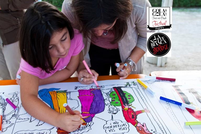 Al Gola Gola Festival la storia a fumetti del Tortél Dòls